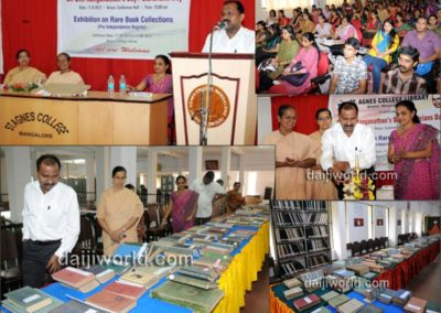 Librarians' Day/ Dr.S.R.Ranganathan's Day 2012 Exhibition on Rare Book Collection
