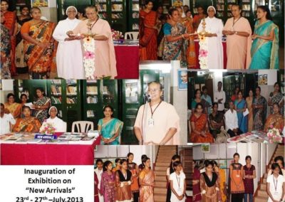 "Inauguration of Exhibition on ""New Arrivals"""
