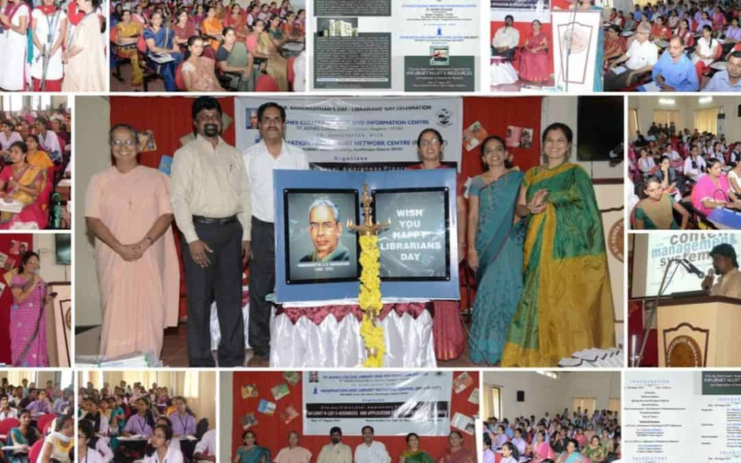 Librarians' Day/ Dr.S.R.Ranganathan's Day 2014 State level awareness programme on Inflibnet NLIST e-Resources & Application of Statistics on Research